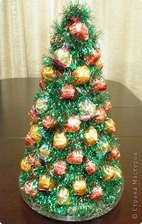 елка из конфет