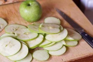идея домашено бизнеса - яблочные чипсы